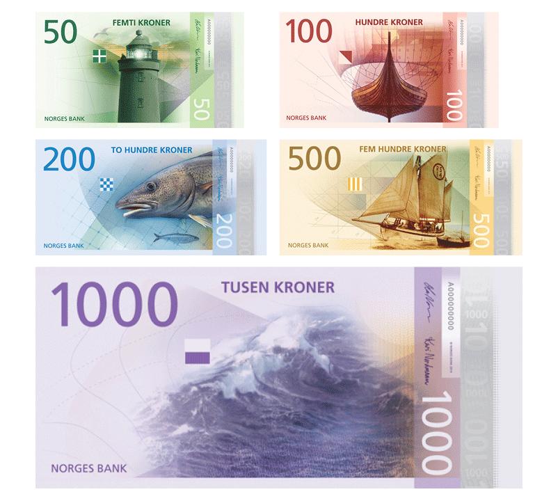 norway new money design