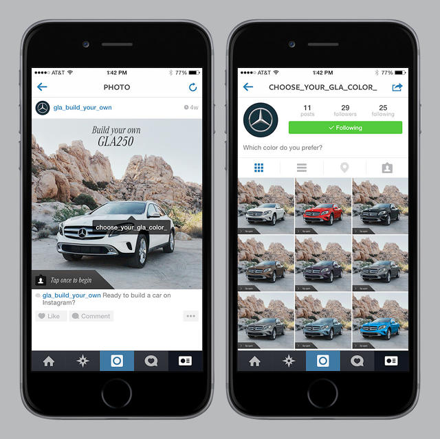 mercedes-benz car builder on instagram