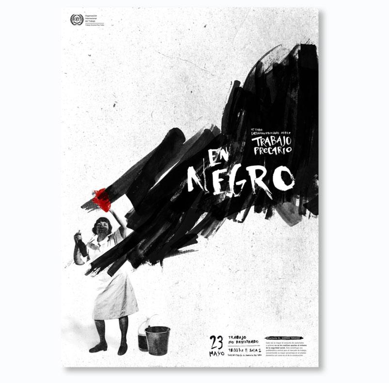 Creative illustration posters