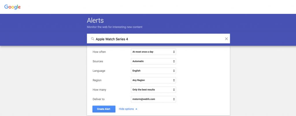 google-alerts-social-media-monitoring-tool